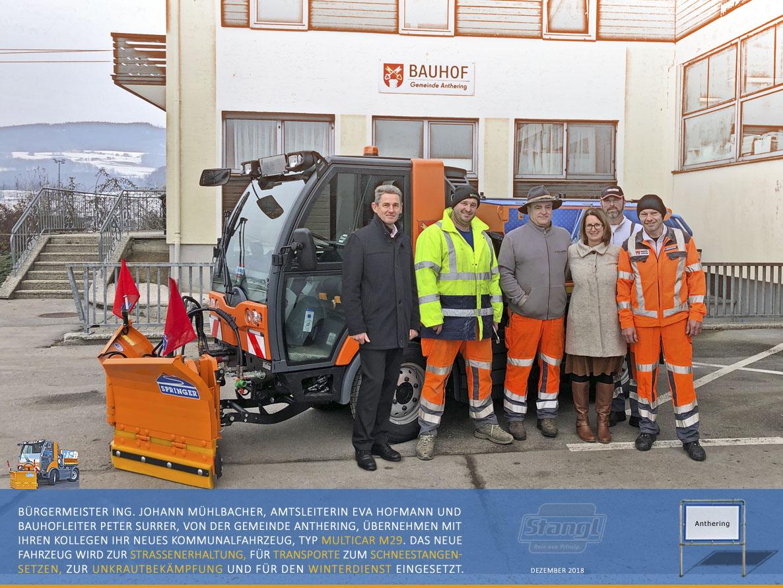 Berühmt Stangl Kommunaltechnik: Kommunalmaschinen & Fahrzeuge #LD_41